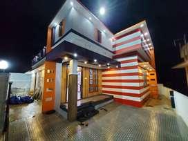 Residential villa 3bhk contemporary single floor