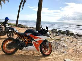 KTM RC 200 in immaculate condition