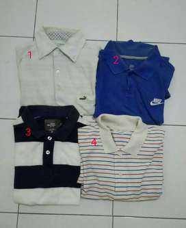 Polo shirt crocodile nike h&m uniqlo