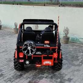 Prem Jeep modified