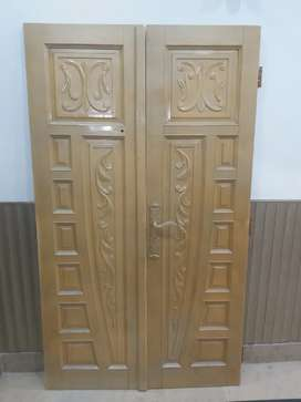 Solid Wood Door For Sake