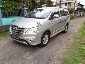 Toyota Innova 2.5 GX 7 STR BS-III, 2014, Diesel