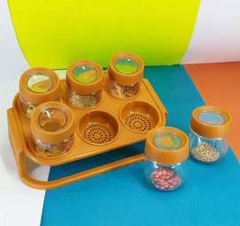 Masala spice stand rack