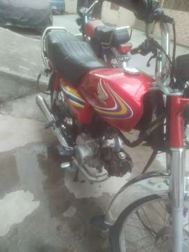 Honda CD 70 rawalpindi number