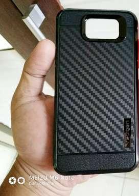 Case Samsung S7 Flat Dijual Satuan Kondisi New Silicon Carbon Bonus TG