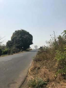 Highway touch 20 Guntha land for rent for hotel at NH222 Murbad