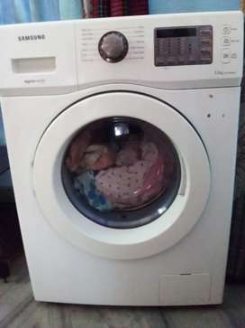 Samsung front loaded washing machine