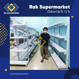 Jual Rak Minimarket dan Rak Supermarket Termurah