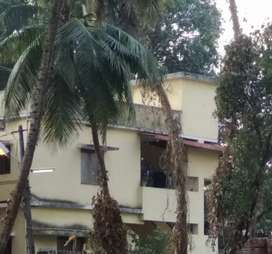 2 bhk house up stairs near shadi  mahal bolar mangalore
