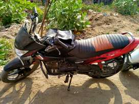 Glamour bike single hand drive with good condition
