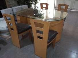 Meja Makan lengkap Kursi Model Minimalis full Kayu bukan kaleng kaleng