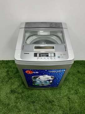 Lg turbo drum silver Automatic washing machine with free shipping