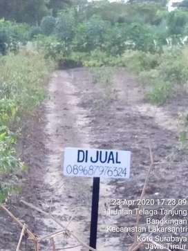 Jual Tanah Daerah Bangkingan Kebraon ukuran 17×65 meter