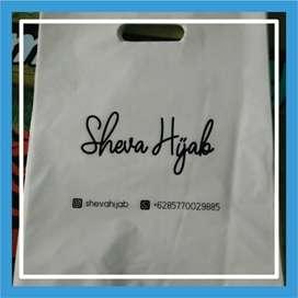 Tas Plastik Sablon / Tas Fashion untuk Usaha FREE ONGKIR - 102258