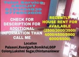 Single Room(3500/4500/5000/6000)Available Near Palasuni To Kalpana