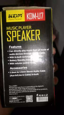 Music player ,Speaker
