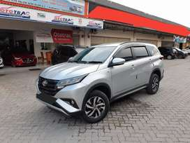 Toyota New Model Rush G M/T Thn 2018 Silver Kilometer Low