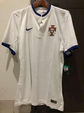 Jersey Portugal Away 2014 Player Issue Original Murah
