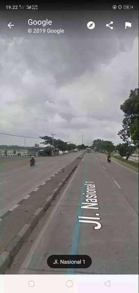 Dijual tanah di jalan utama nasional pantura Pamanukan subang patimban