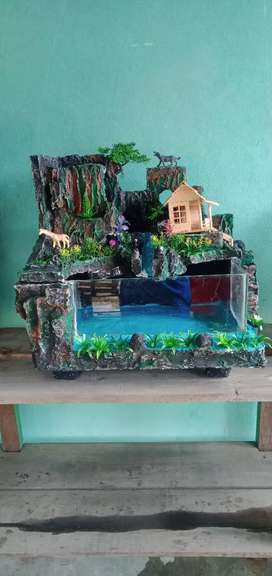 Aquarium hias relief