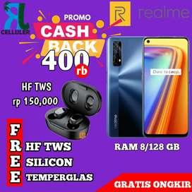REALME 7 8/128 READY( NFC) GARANSI RESMI