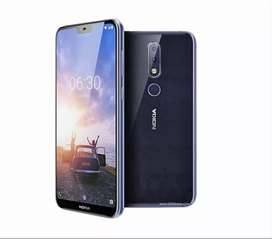 Nokia 6.1 Plus Full new seal pack box 6gb ram and 64 internal memory