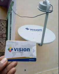 Parabola mini satelit sband indovision mncvision