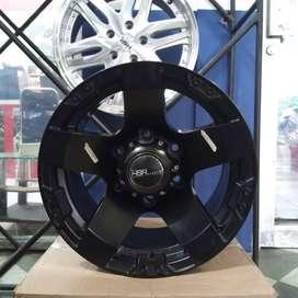 Velg Racing Hardtop Pajero Fortuner Strada L200 R15 RASTA JT5295