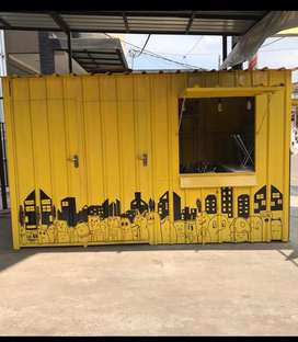Booth Container / gerobak
