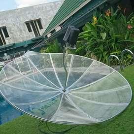 Parabola jaring standar fta, channel2 bebas bulanan