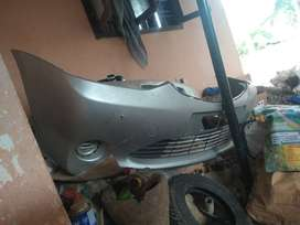 Etios liva bumber,spoiler back and front