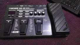 ME-25 Guitar processor with original adapter only 2 years old