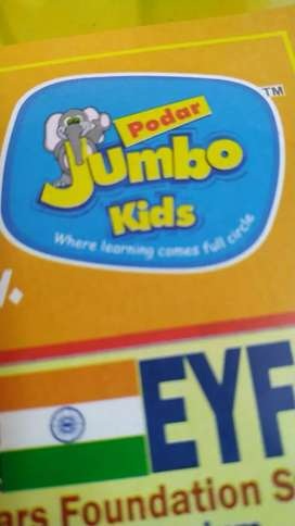 Female Teachers are required for full time job at Podar Jumbo Kids