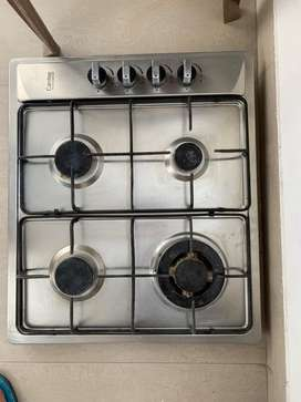 Cantee Gas Stove of 4 burners with auto ignition