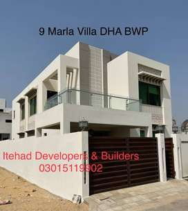 6 MARLA READY TO MOVE IN VILLAS LOCATED IN DHA BAHAWALPUR ARE FOR SALE