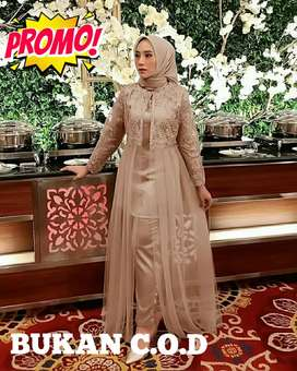 Setelan wanita muslim terbaru terlaris murah