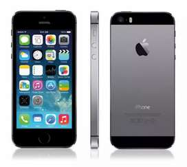 An I phone 5S in good condition with leather coated back cover