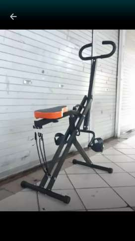 Gym.kapas power rider home squat multifungsi