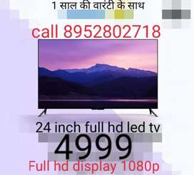 Full hd led tv with wallmount stand