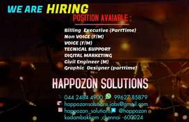 WE ARE HIRING JOIN OUR TEAM !