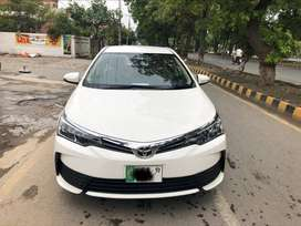 Toyota Corolla GLI 2019 On Installment With 20% Down Payment