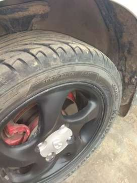 New tyre all work done service done new battery.