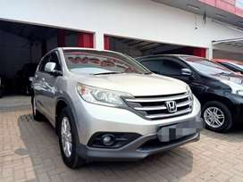 CRV 2.0 Manual 2013 Silver DP Minim Bisa Mobil Siap Pakai