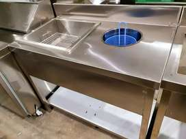 Breading table new we deal all restaurant equipment 5 year warranty