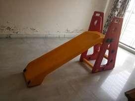A  baby slide