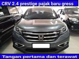 Honda crv 2.4 ptestige automatic/at pajak baru