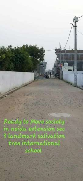 Ready to Move SOCIETY in noida extension sec 3