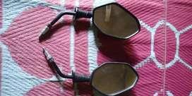 honda dio rear view mirrors