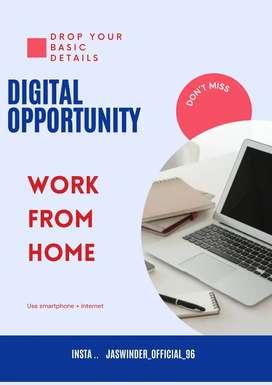 Home base work use social media