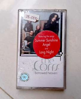 Kaset pita original album THE CORRS :  BORROWED TIME, kondisi segel